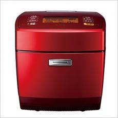 【MITSUBISHI 三菱】 炭炊釜6人份IH電子鍋NJ-EV105T(紅色)