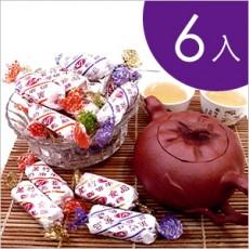 【萬竹食品】萬竹牛軋糖(香純系列/600g/包)-6入組 綜合