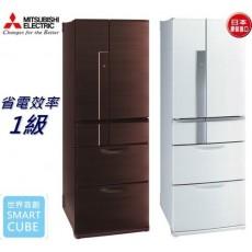 【MITSUBISHI】 三菱日本原裝525L六門變頻電冰箱MR-JX53X(公司貨)