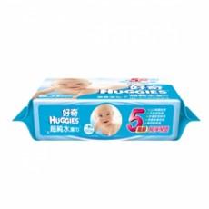 【好奇】純水嬰兒濕巾一般型100抽(10包/箱)