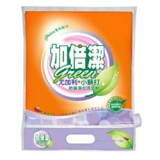【加倍潔】尤加利+小蘇打制菌洗衣粉(1kgx12包/箱)