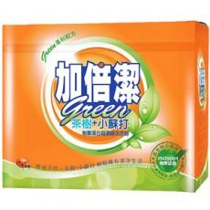 【加倍潔】茶樹濃縮制菌洗衣粉(1.5kgx6盒/箱)