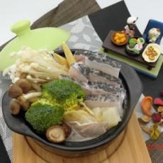 良鮮水產:酸白菜龍膽鍋加贈300g石斑魚丸 低溫配送